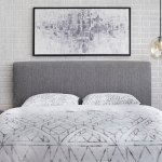 Lifestorey Emery Upholstered Queen Headboard Overstock 28116324