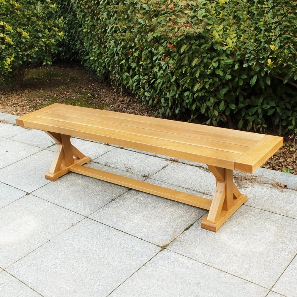 cambridge casual baytown white oak patio picnic bench