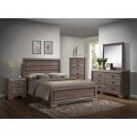 Large Scale Rustic Wooden Grey Queen Bedroom Set Overstock 28266120