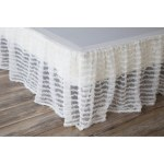 Porch Den Edy King Size White Ruffled Bed Skirt On Sale Overstock 28285183