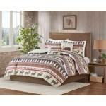 Carbon Loft 5 Piece Rustic Lodge Cabin Christmas Comforter Set Overstock 28384747