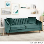 Ansonia 3 Seat Contemporary Velvet Sofa By Christopher Knight Home On Sale Overstock 28813612