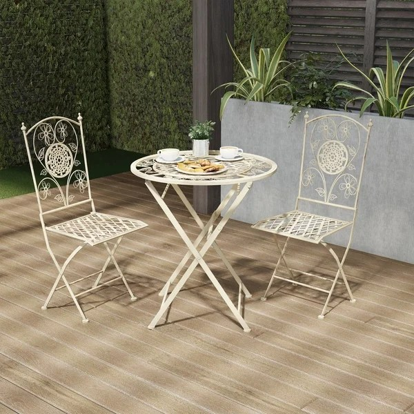 wrought iron patio furniture find