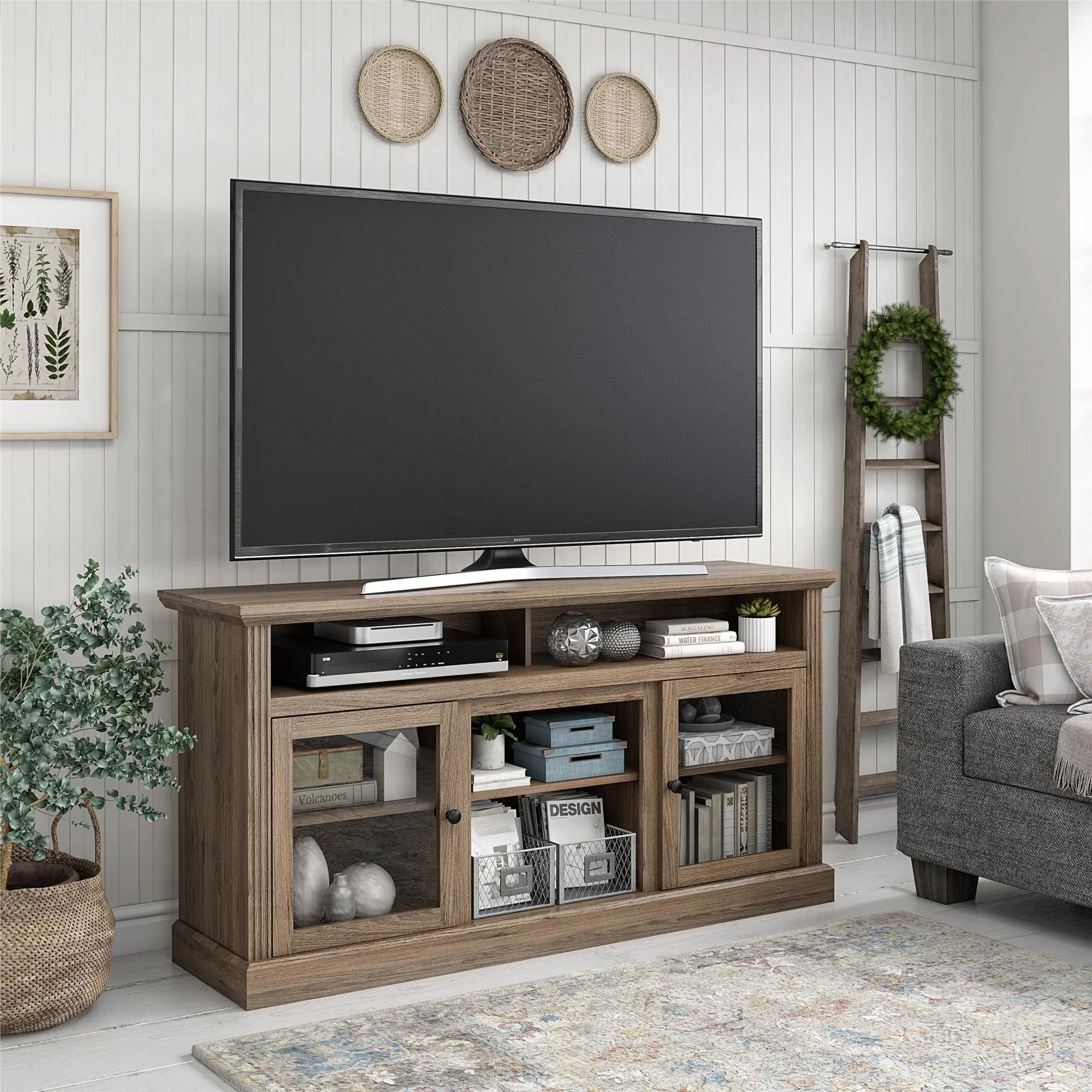 Shop Avenue Greene Garnett Tv Stand For Tvs Up To 65 Inches On Sale Overstock 28988632