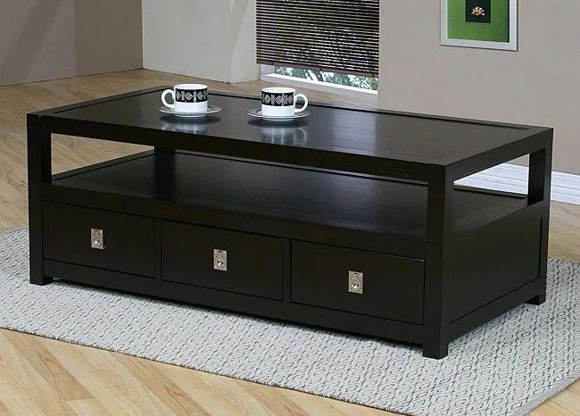 Norwich Three Drawer Coffee Table Free Shipping Today