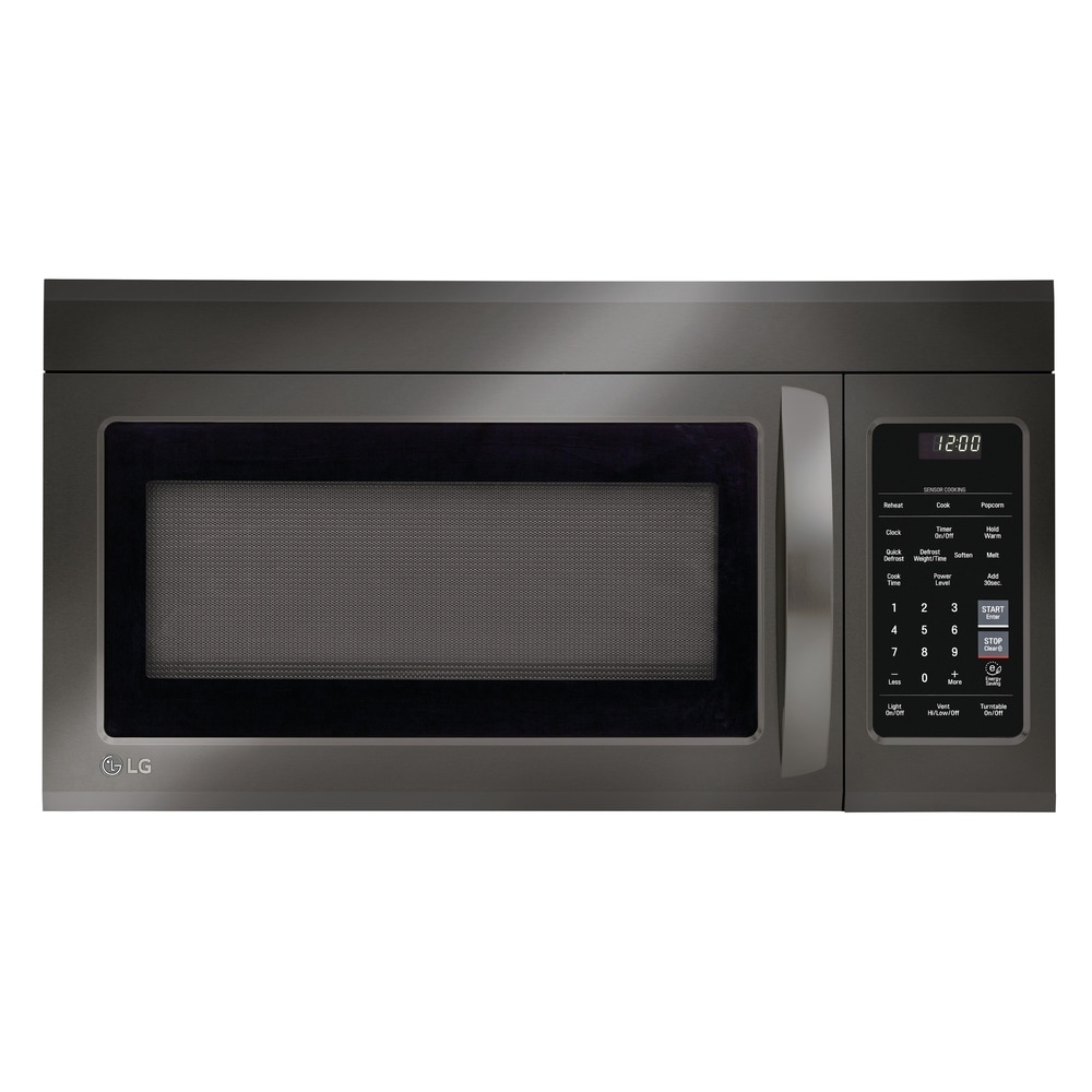 black microwaves online at overstock
