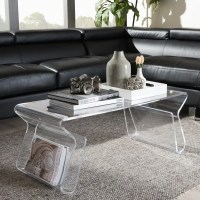 Shop Adair Acrylic Coffee Table - Free Shipping Today ...
