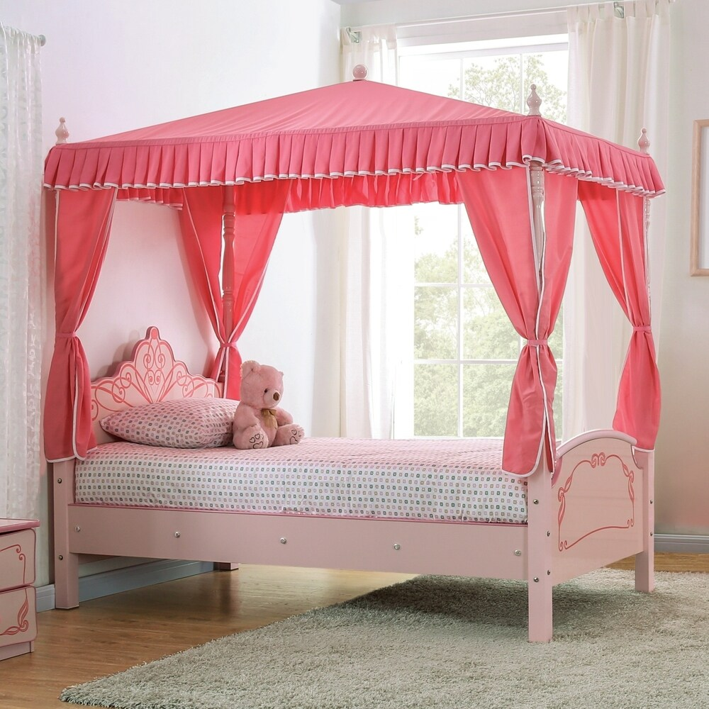 kids toddler canopy bed shop