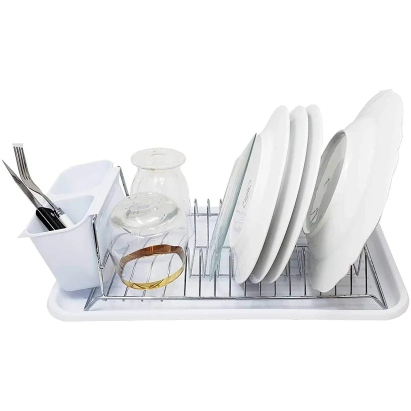 dish drainer drying rack tray over the