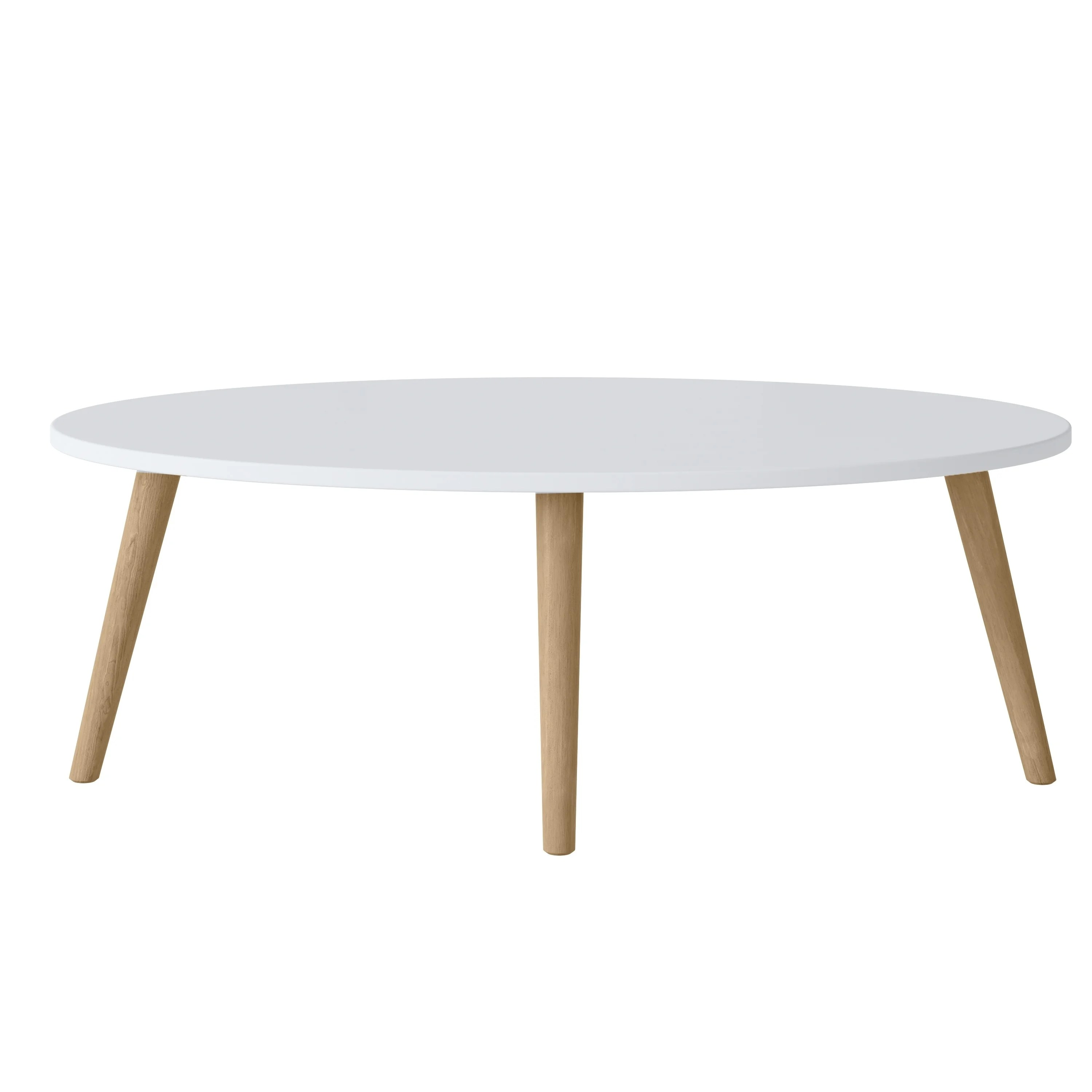 copper grove gretta oval wood cocktail table