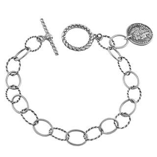 Shop American Coin Treasures Silver Barber Dime Bracelet