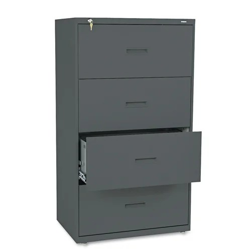 HON 400 Series 30inch Wide 4Drawer Lateral File Cabinet