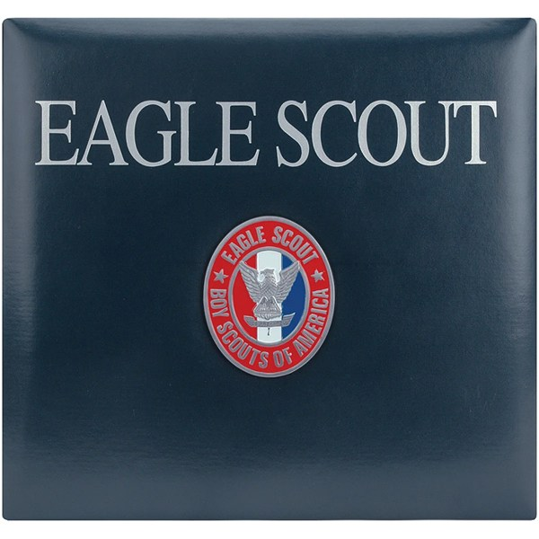 Postbound Eagle Scout Scrapbook Album - Free Shipping