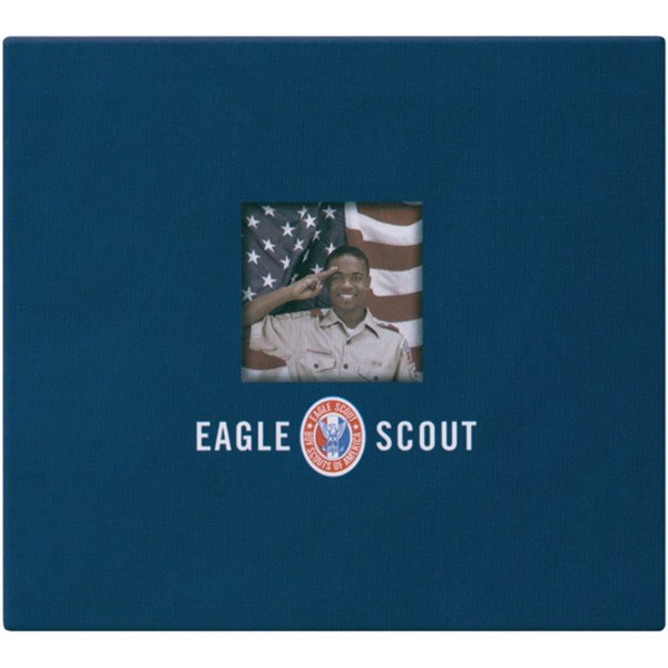 Postbound Eagle Scout Top-loading Navy-blue Fabric