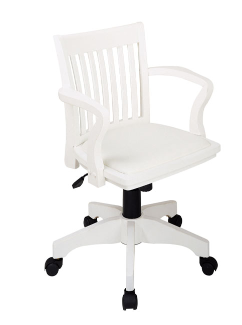 desk chair adjustable portable folding chairs for outdoors office star wood bankers with padded seat - free shipping today overstock.com 11166355