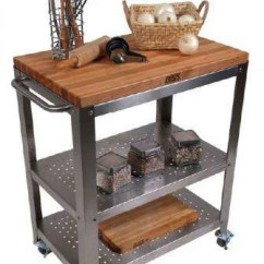 Rolling Kitchen Carts Painting Cabinets Ideas Shop John Boos Cucina Culinarte Cart Free Shipping