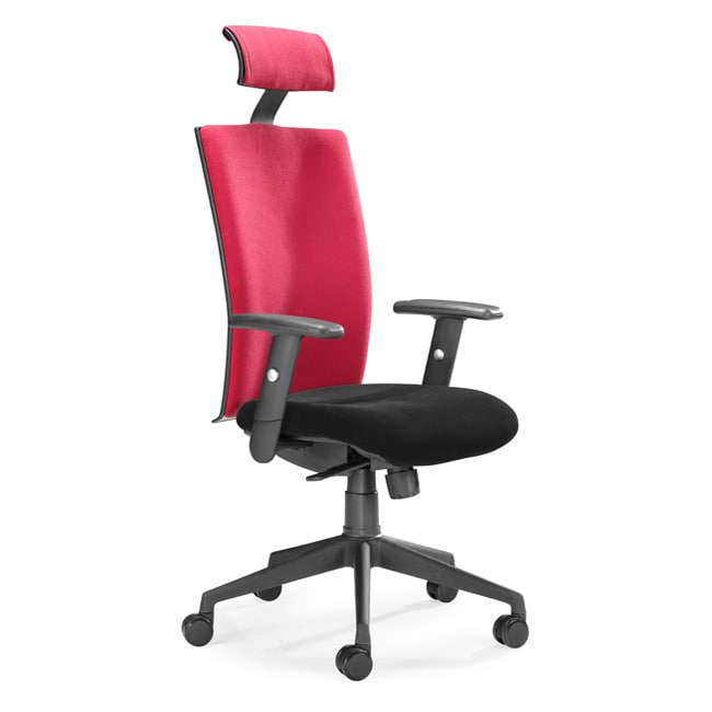 Santa Fe Red Office Chair  Overstock Shopping  Great