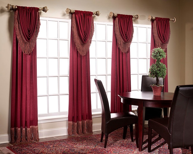 Shop Versailles Waterfall Valance Pair Free Shipping On Orders Over 45 Overstock 3174585