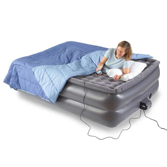 AeroBed Raised Full Pillow Top Air Mattress  11294798  Overstockcom Shopping  Big Discounts