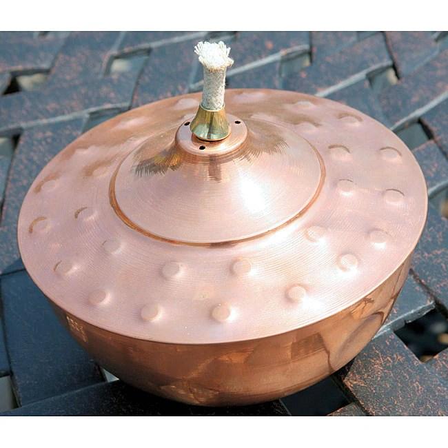 Copper Table Top Tiki Torch  11417860  Overstockcom