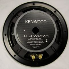 Dual Voice Coil 6x9 Wiring Diagram For Phone Socket Australia Kenwood Kfc W2510 10 Inch 800 Watt Subwoofer Free