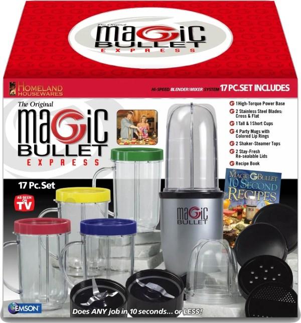 Magic Bullet Express Speed Blender Mixer System