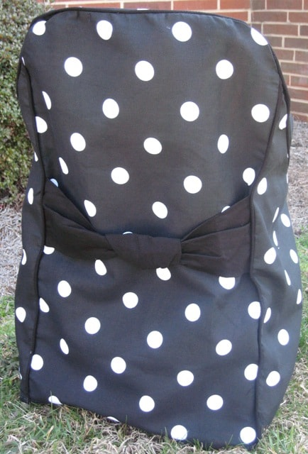 folding chair slipcovers swing egg the range polka dot covers (set of 4) - free shipping today overstock.com 11202474