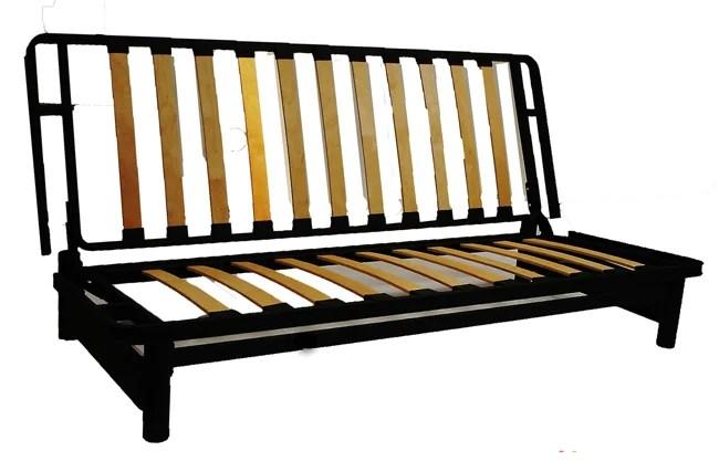 Bifold Metal Futon Sofa Bed Frame  Free Shipping Today  Overstockcom  11726286