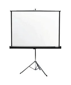 Shop White Portable 60-in x 60-in Tripod Projector Screen