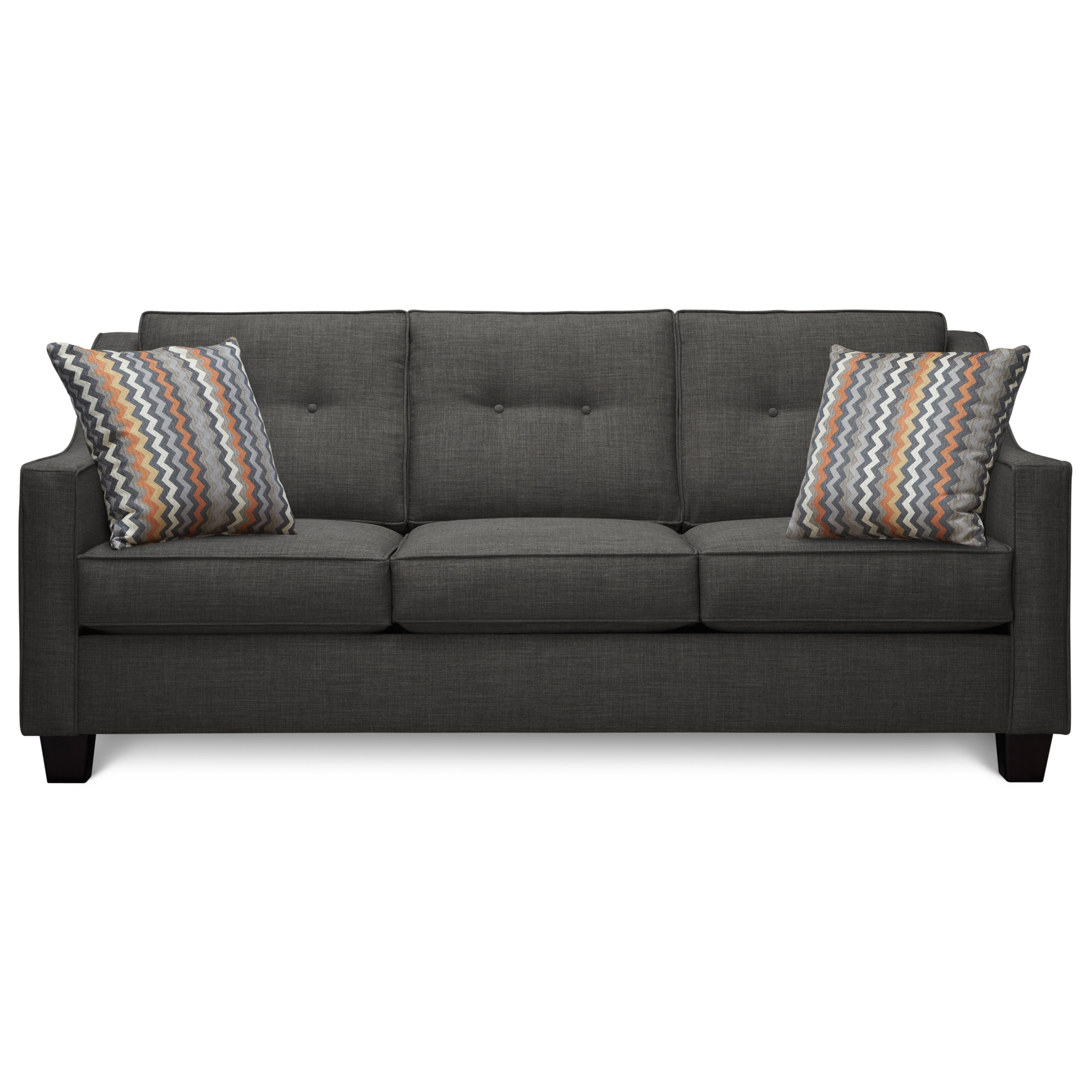 madeline sofa art van miramar table fidelity charcoal with 2 reaction haze accent
