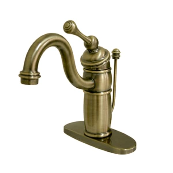 victorian centerset vintage brass bathroom faucet - free shipping