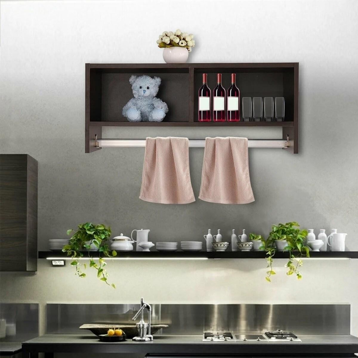 Cube Storage Shelf For Bathroom