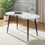 Knox White Marble Top Desk By Greyson Living Overstock 30534267