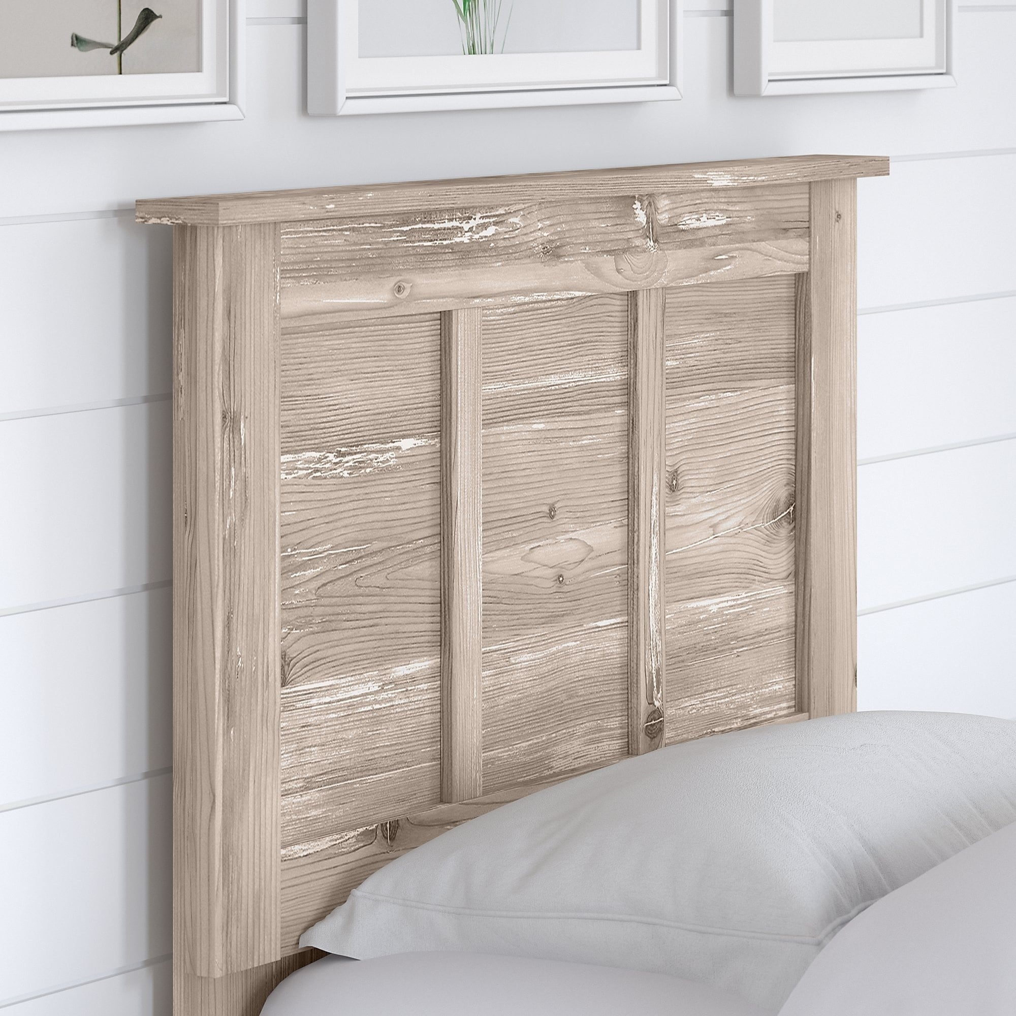 Shop River Brook Twin Headboard From Kathy Ireland Home By Bush Furniture Overstock 30689286