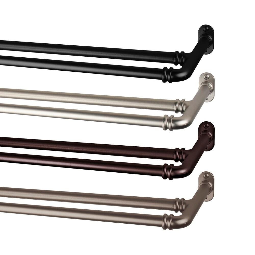 buy blackout rod curtain rods