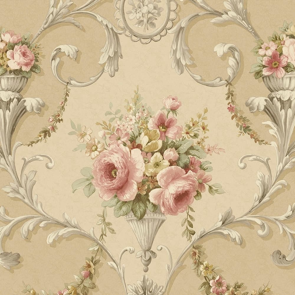 Large Scale Floral Wallpaper - Favorite Wallpapers