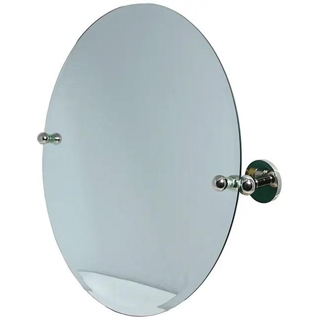 Round Bevelededge Bathroom Tilt Wall Mirror  Free Shipping Today  Overstockcom  11235937