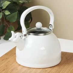 Kitchen Aid Pro 600 Moen Brushed Nickel Faucet Calypso Basics Pink Whistling Tea Kettle - Free Shipping ...