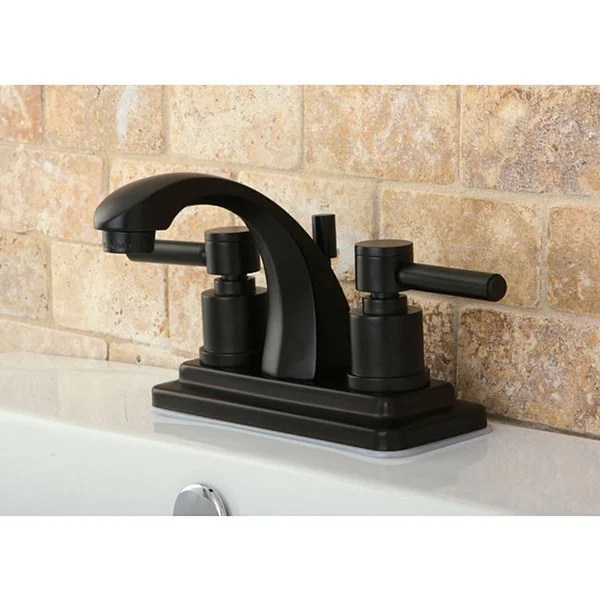 4 inch oil rubbed bronze bathroom faucets Shop Concord 4-inch Oil Rubbed Bronze Bathroom Faucet - Free Shipping Today - Overstock.com