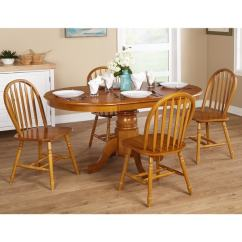 Oak Farmhouse Chairs Neutral Posture Chair Adjustments Shop Simple Living 5 Or 7 Piece Dining Set On Sale