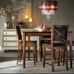 24 Inch Counter Chairs Adams Mfg Adirondack Shop Frisco Bay Burnished Oak Set Of 2 By Inspire