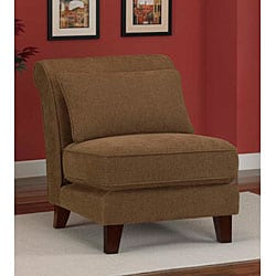 brown leather slipper chair fishing chairs argos clearance furniture store - overstock for the best name brand deals online