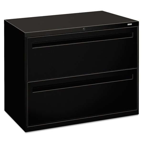 HON 700 Series Black 2drawer Lateral File Cabinet  Free