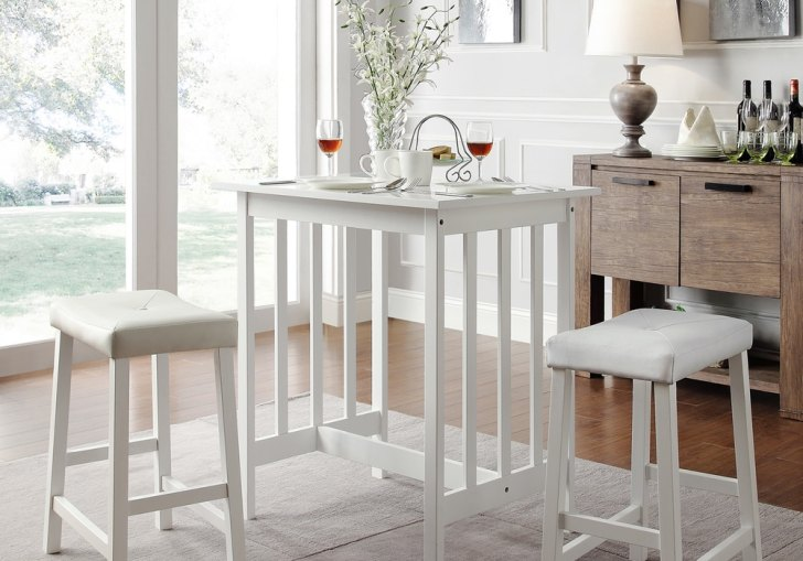 High Table And Chairs For Kitchen
