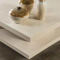 Cream Color Pagoda Coffee Table White Unique Ivory Square ...