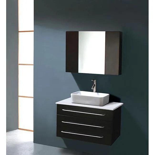 Virtu USA Ivy 32inch Single Sink Bathroom Vanity Set