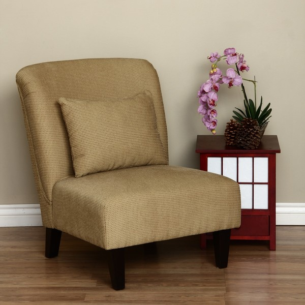 Shop Anna Gold Accent Chair  Free Shipping Today