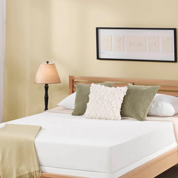 Serta 8 Inch King Size Memory Foam Mattress
