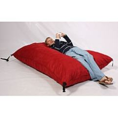 Fufsack Sofa Sleeper Lounge Chair R Us Shop Red Microsuede Free Thumbnail
