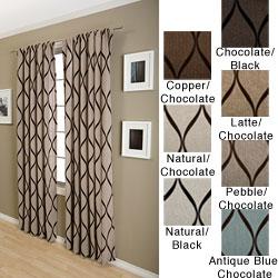 Softline Sahara Rod Pocket 108 Inch Curtain Panel Free Shipping